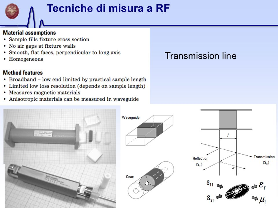 Tecniche di misura a RF Transmission line