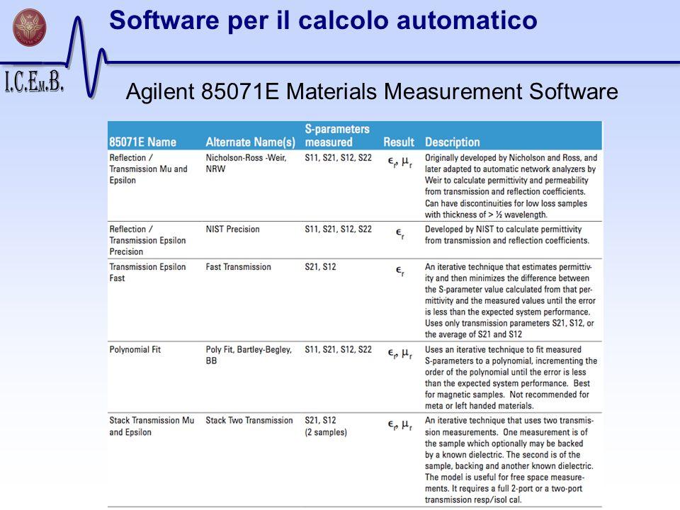 Software per il calcolo automatico