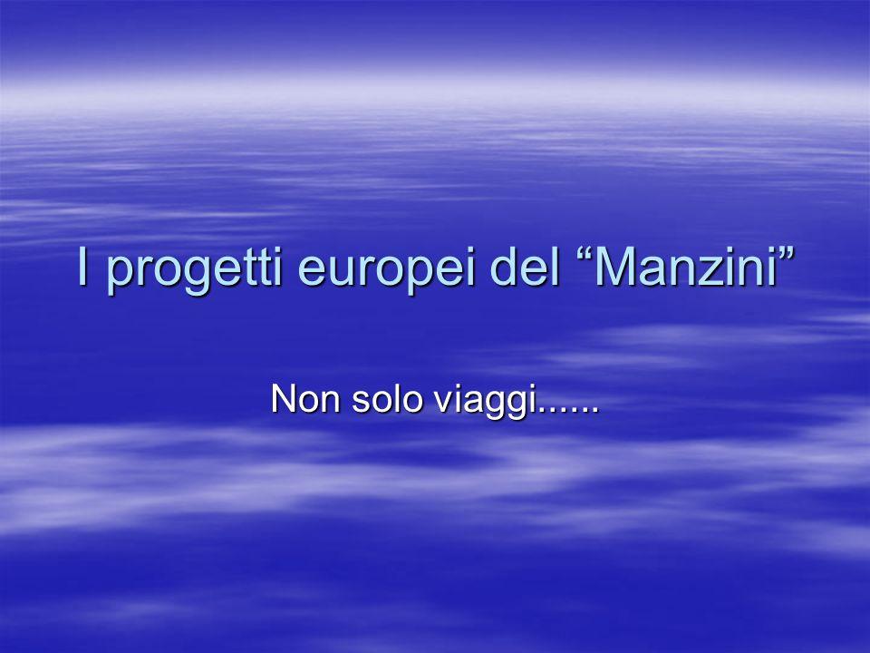 I progetti europei del Manzini