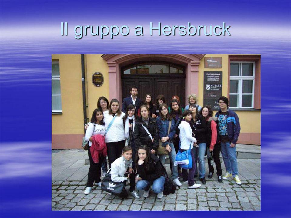 Il gruppo a Hersbruck