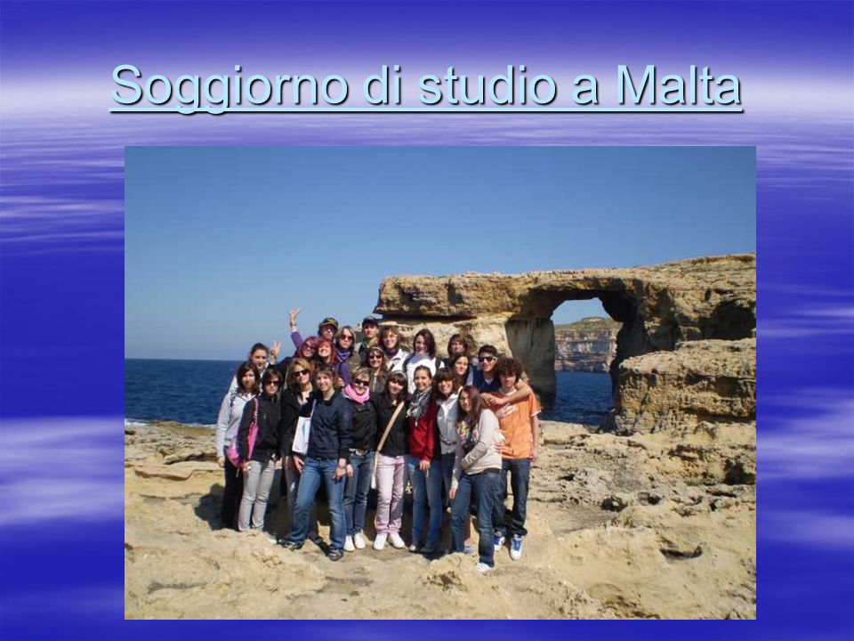 Soggiorno di studio a Malta
