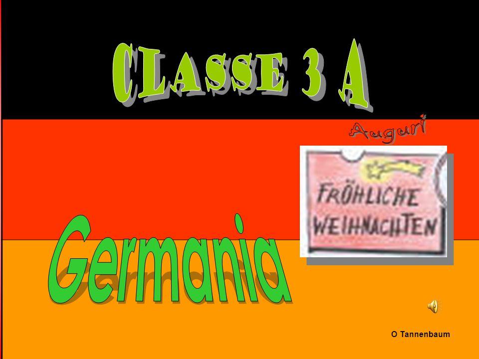Classe 3 A Auguri Germania O Tannenbaum