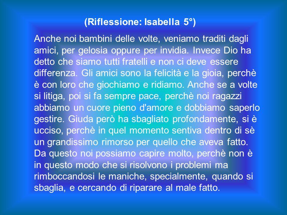 (Riflessione: Isabella 5°)