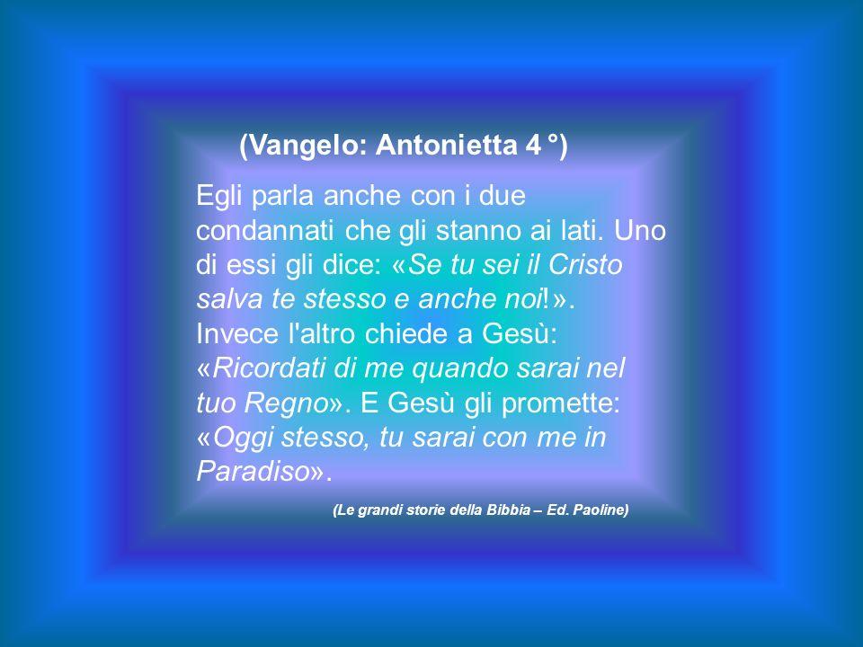 (Vangelo: Antonietta 4 °)