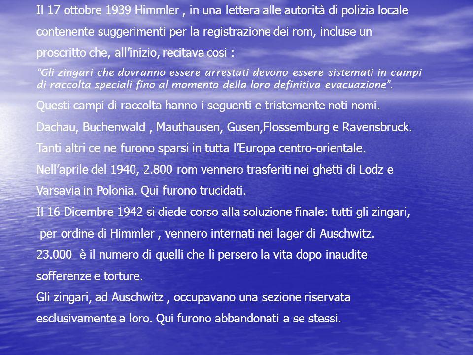 contenente suggerimenti per la registrazione dei rom, incluse un