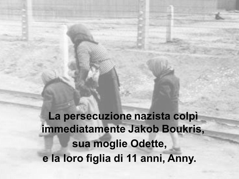 sua moglie Odette, e la loro figlia di 11 anni, Anny.