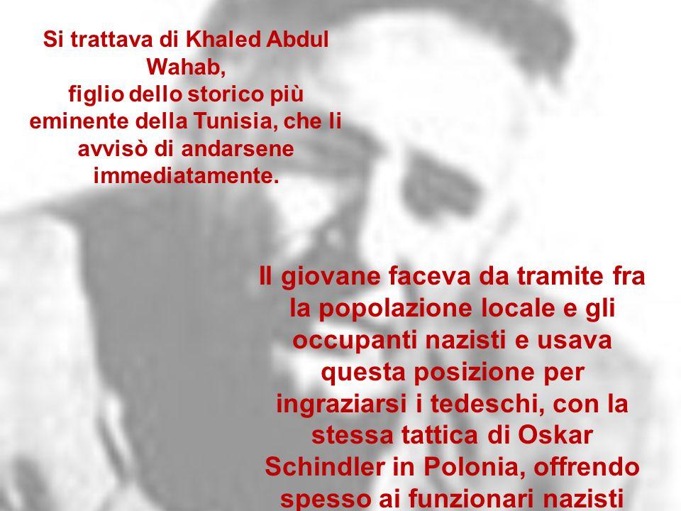 Si trattava di Khaled Abdul Wahab,