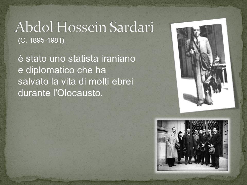 Abdol Hossein Sardari (C.