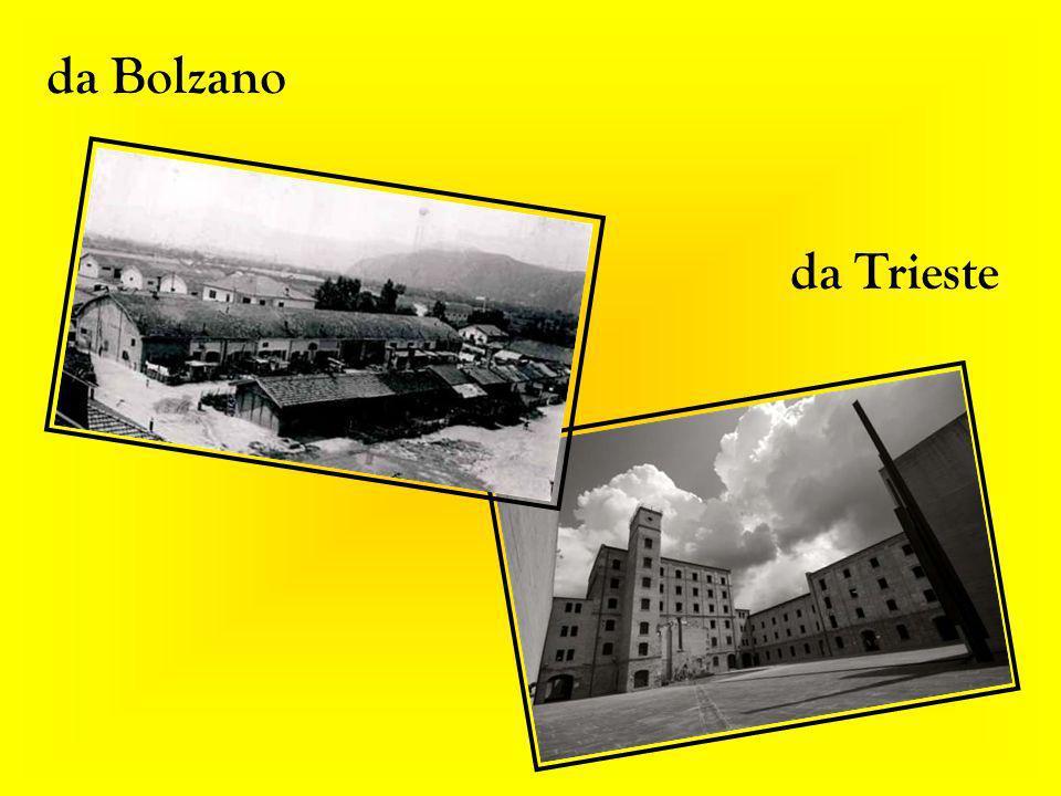 da Bolzano da Trieste