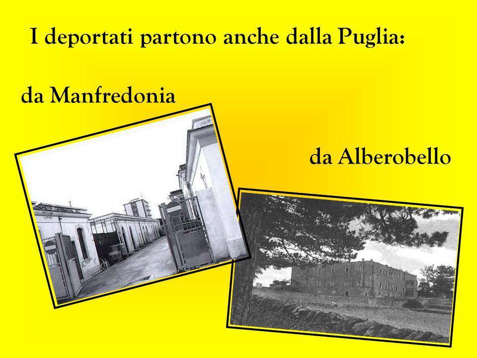 I deportati partono anche dalla Puglia: