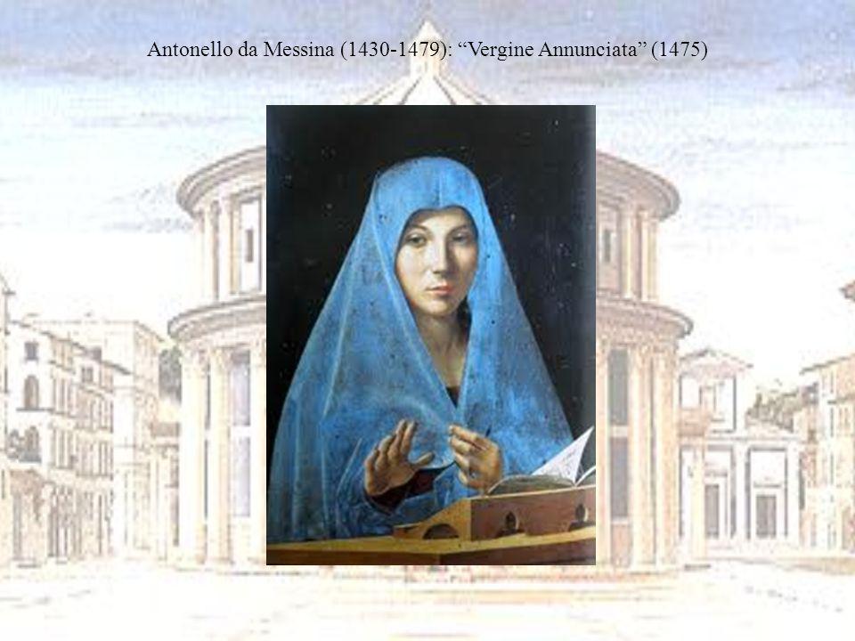 Antonello da Messina (1430-1479): Vergine Annunciata (1475)