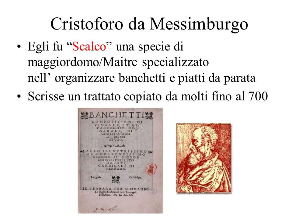 Cristoforo da Messimburgo