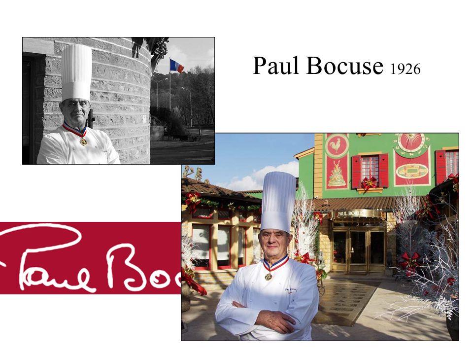 Paul Bocuse 1926 Paul bocuse 1926