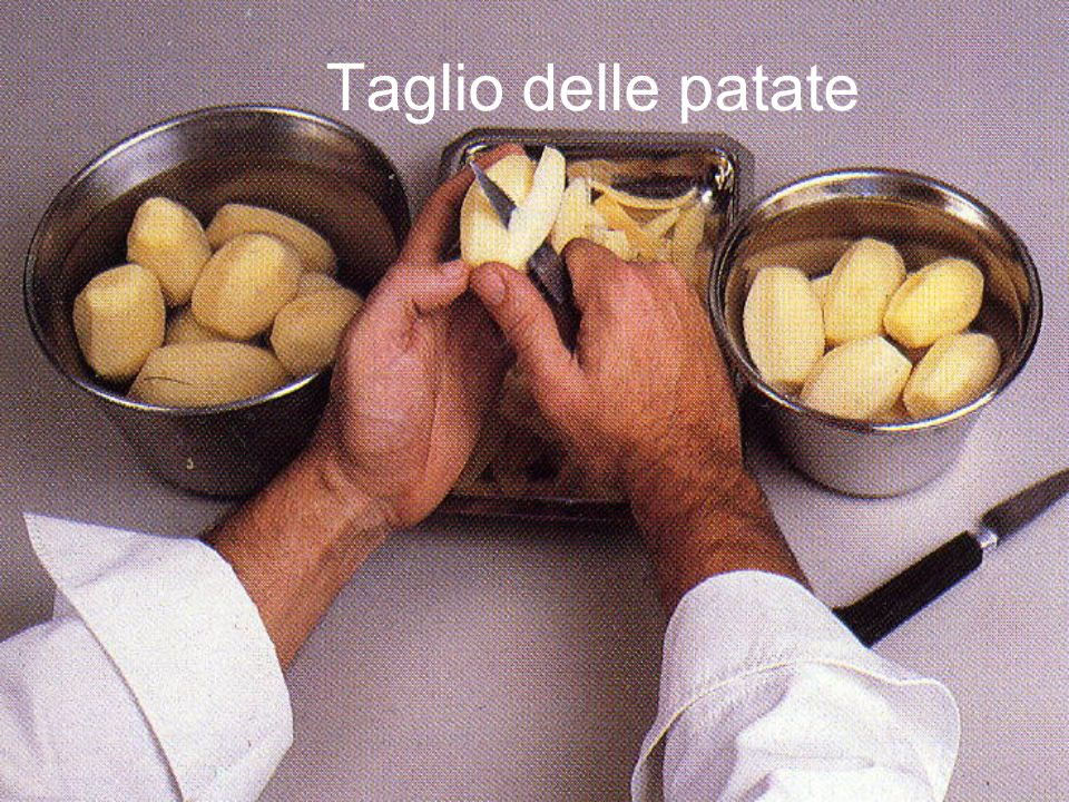 Taglio delle patate