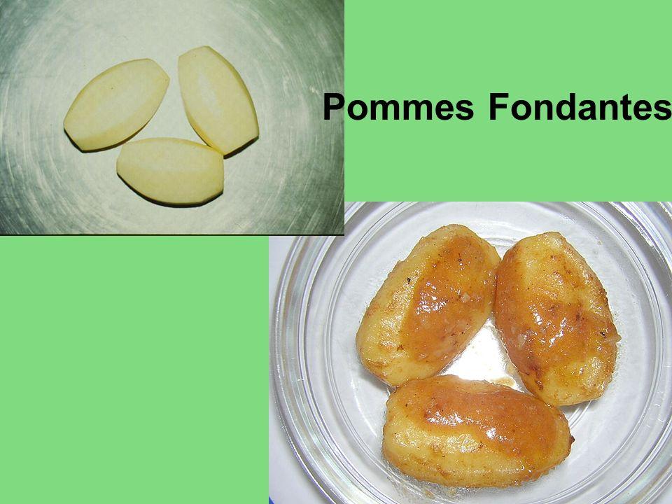 Pommes Fondantes