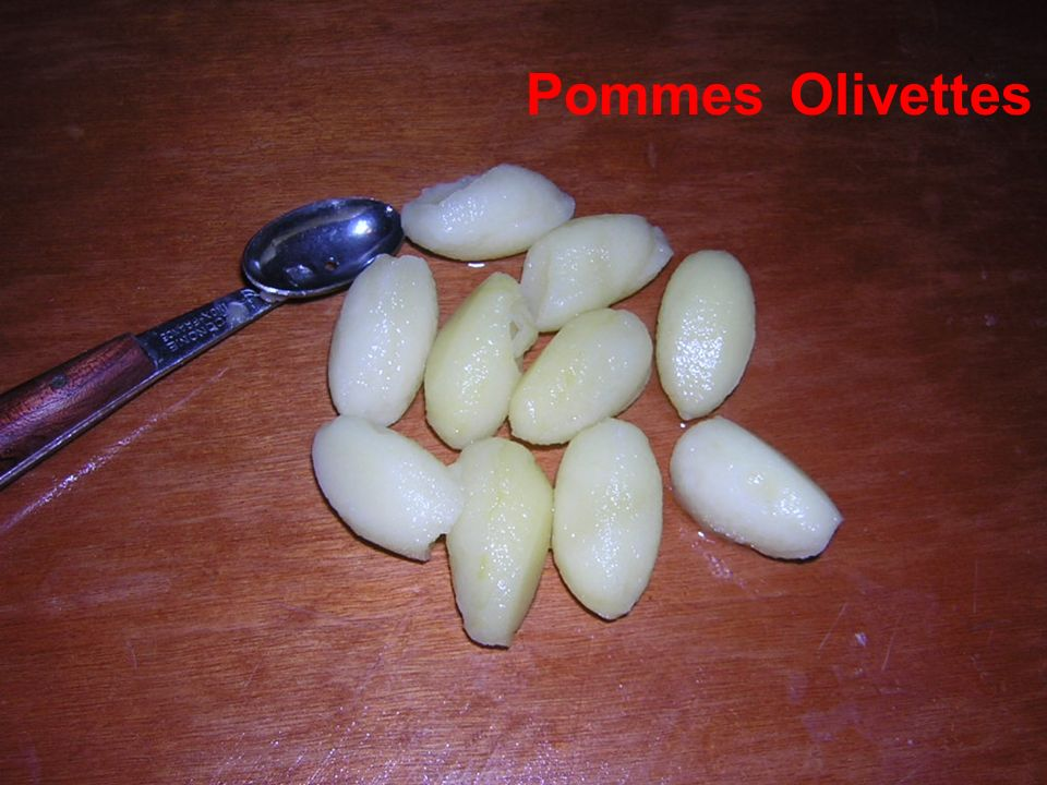 Pommes Olivettes
