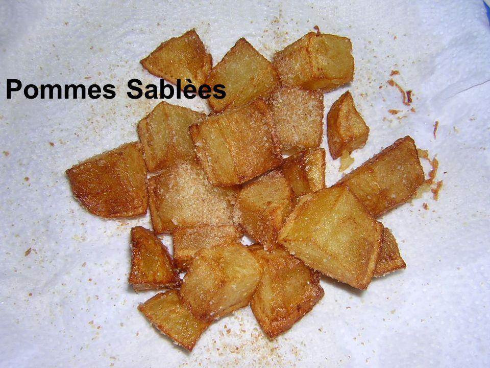 Pommes Sablèes