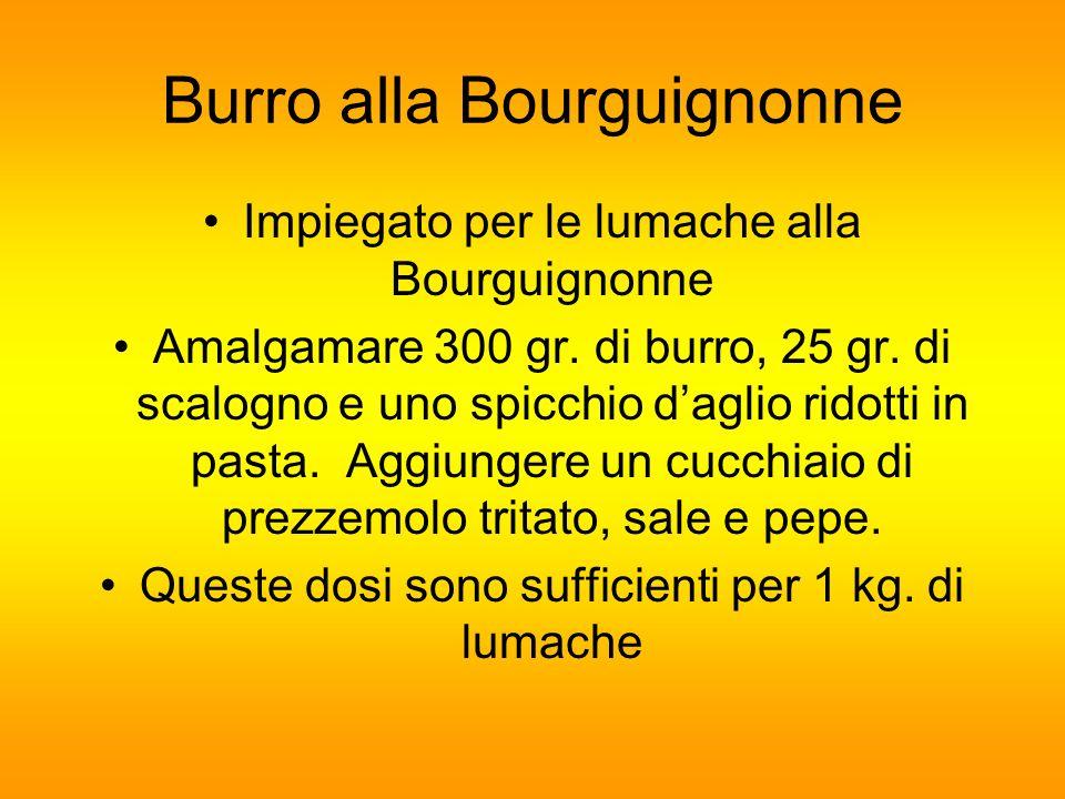 Burro alla Bourguignonne