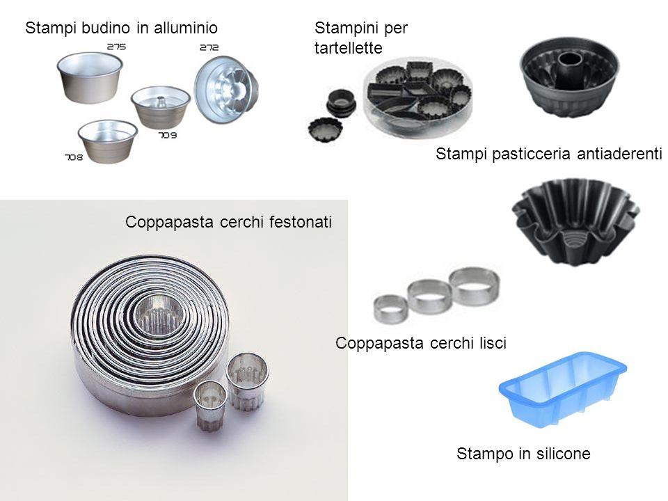 Stampi budino in alluminio