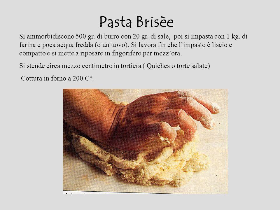 Pasta Brisèe