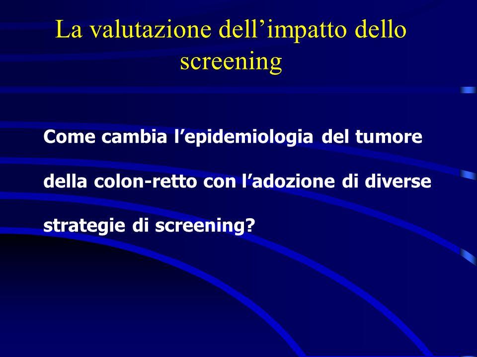 La valutazione dell'impatto dello screening