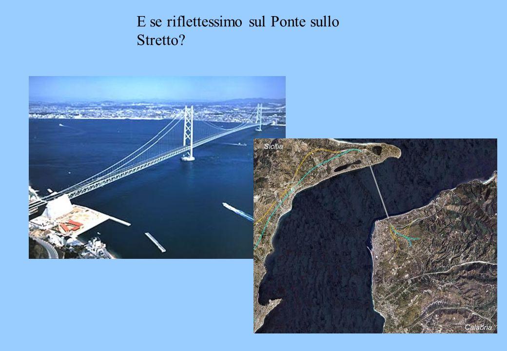 E se riflettessimo sul Ponte sullo Stretto