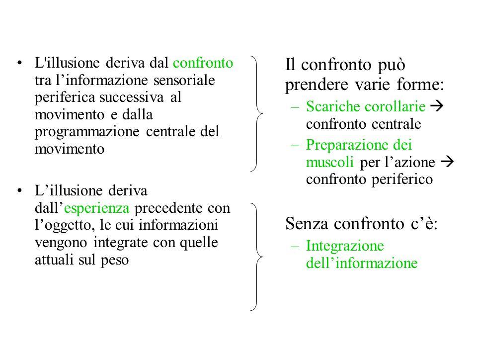 Il confronto può prendere varie forme: