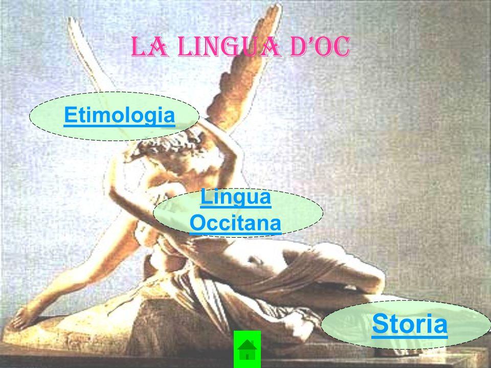 La Lingua d'Oc Etimologia Lingua Occitana Storia