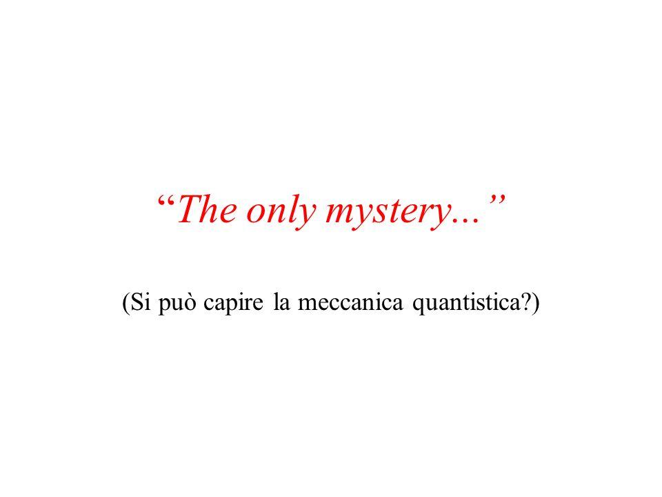 (Si può capire la meccanica quantistica )