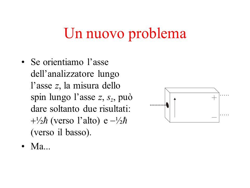 Un nuovo problema