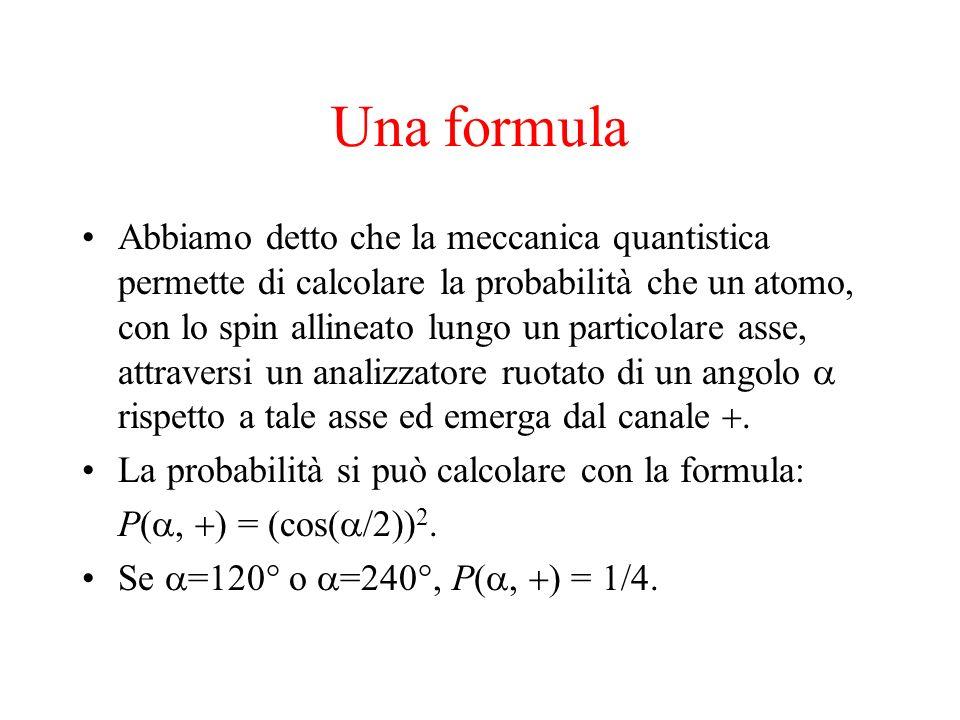 Una formula
