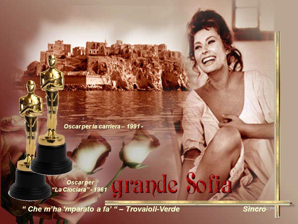 Oscar per La Ciociara - 1961