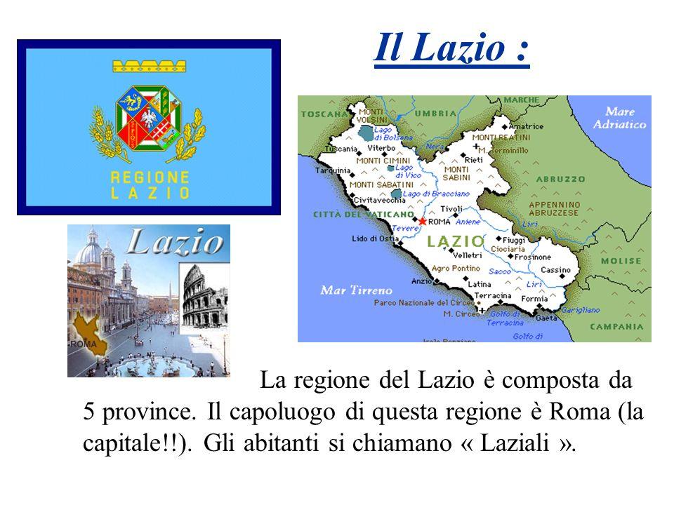 Il Lazio :