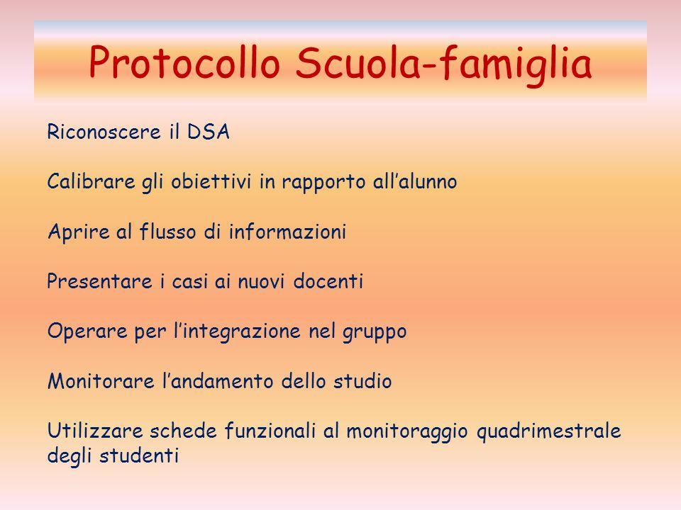 Protocollo Scuola-famiglia