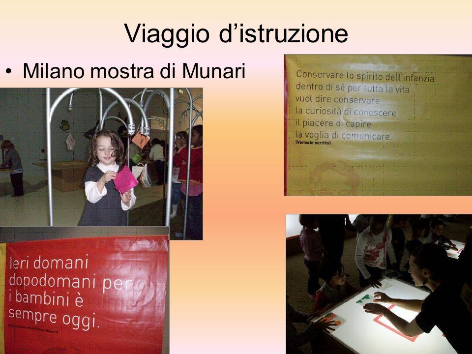 Viaggio d'istruzione Milano mostra di Munari