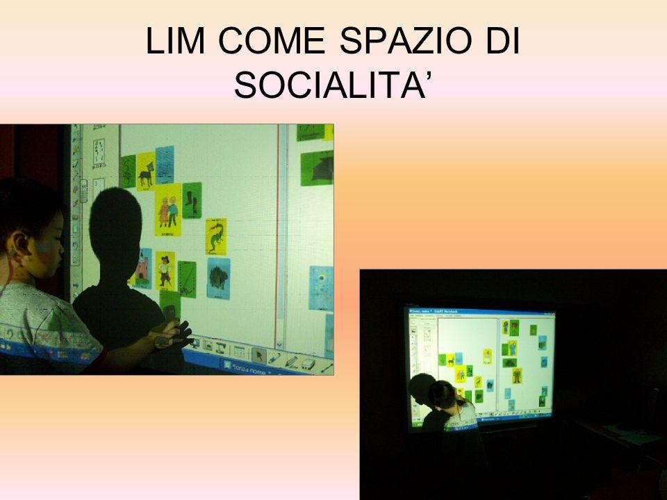 LIM COME SPAZIO DI SOCIALITA'