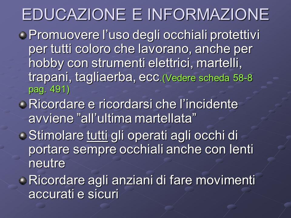 EDUCAZIONE E INFORMAZIONE