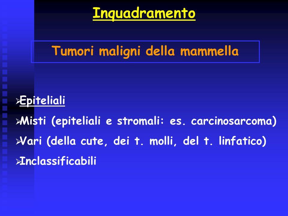 Tumori maligni della mammella