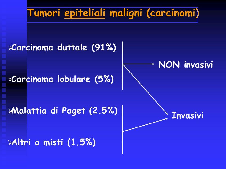 Tumori epiteliali maligni (carcinomi)