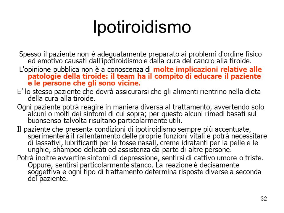 Ipotiroidismo