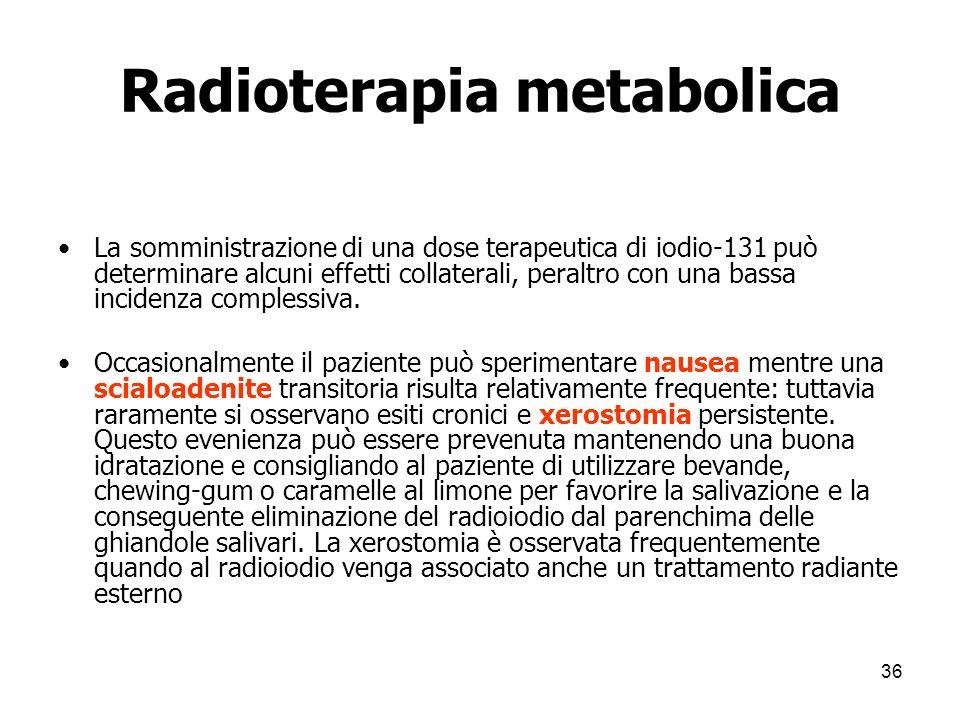 Radioterapia metabolica