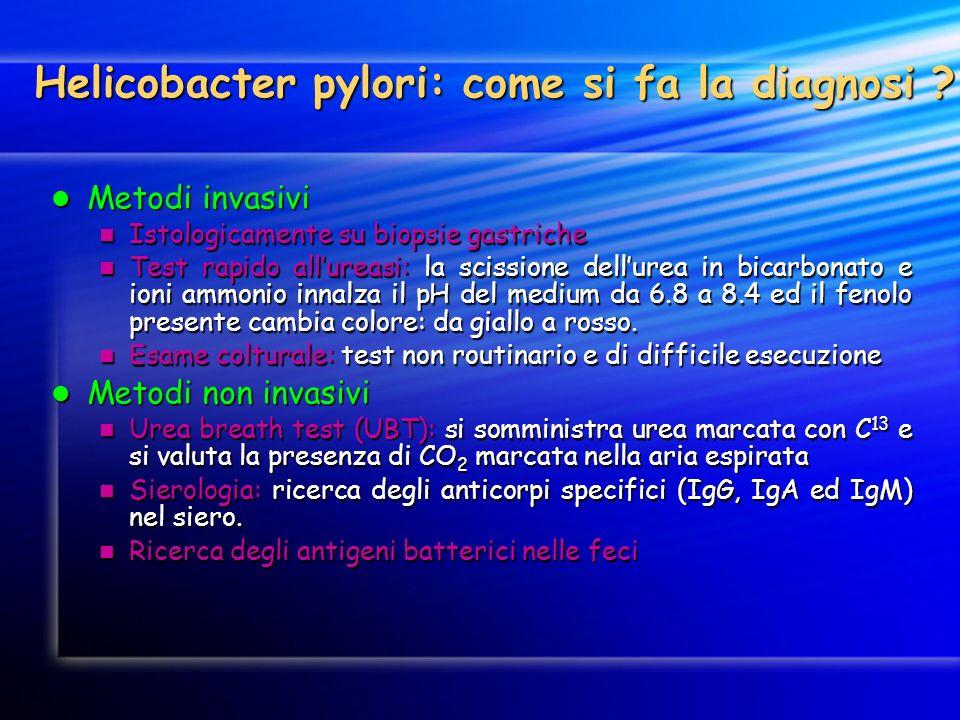 Helicobacter pylori: come si fa la diagnosi