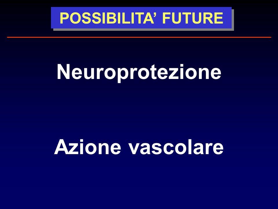 Neuroprotezione Azione vascolare