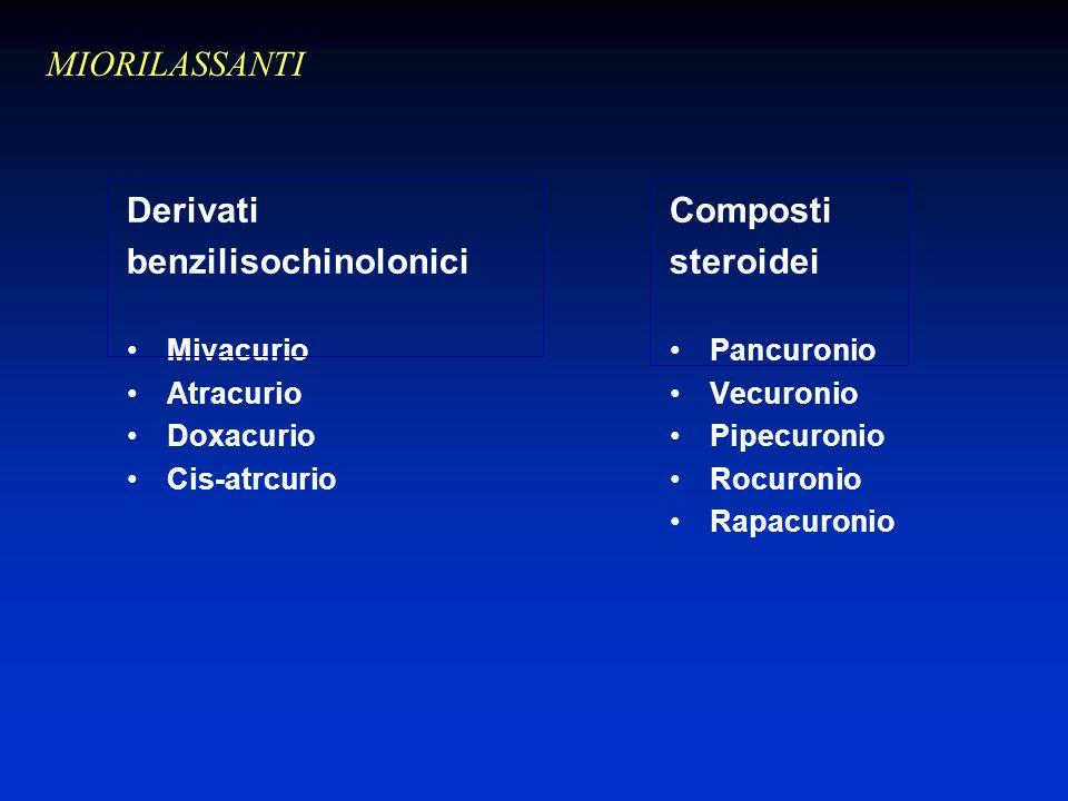 benzilisochinolonici Composti steroidei