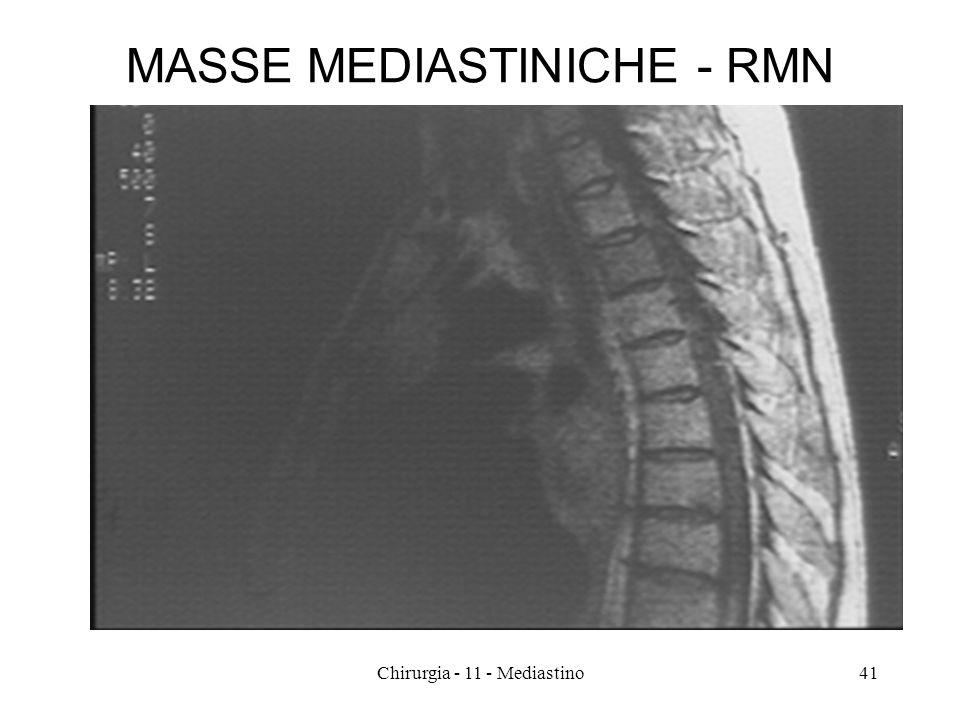 MASSE MEDIASTINICHE - RMN