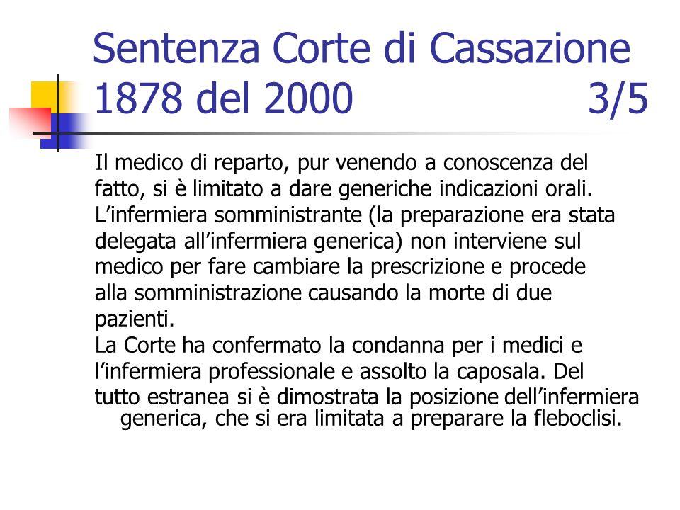 Sentenza Corte di Cassazione 1878 del 2000 3/5