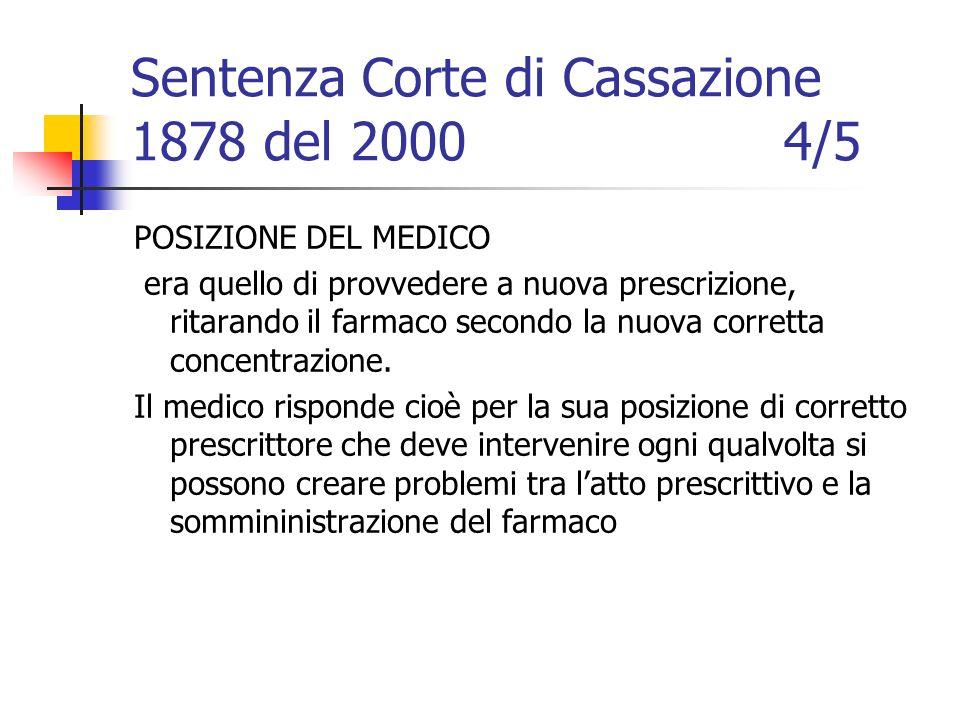 Sentenza Corte di Cassazione 1878 del 2000 4/5