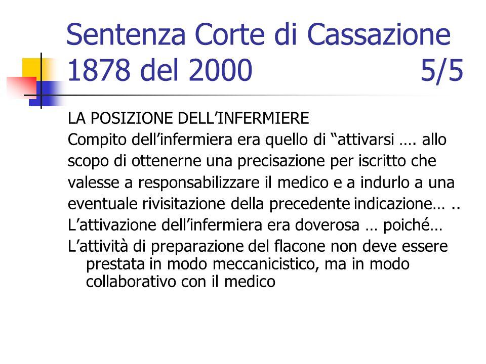Sentenza Corte di Cassazione 1878 del 2000 5/5