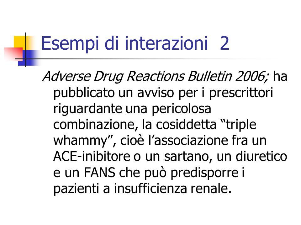Esempi di interazioni 2