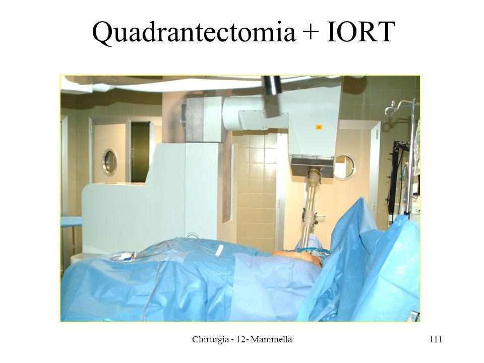 Quadrantectomia + IORT